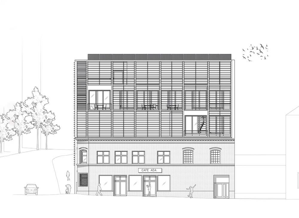 Front-Ansicht: Entwurf – Kim Krall, Moritz Munkel