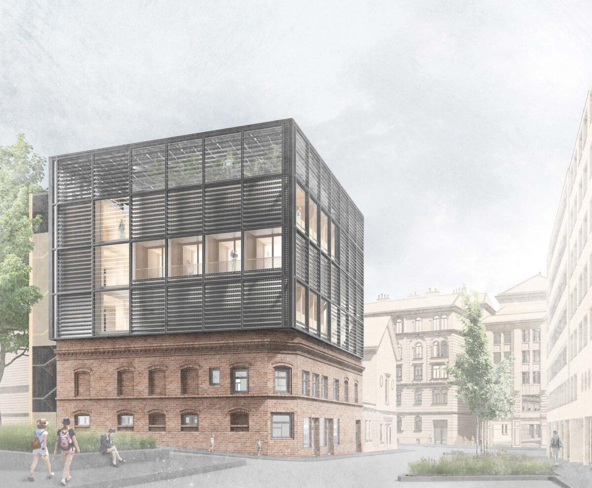 Rendering des MIMO-Konzepts auf dem Cafe Ada in Wuppertal - SDE21/22