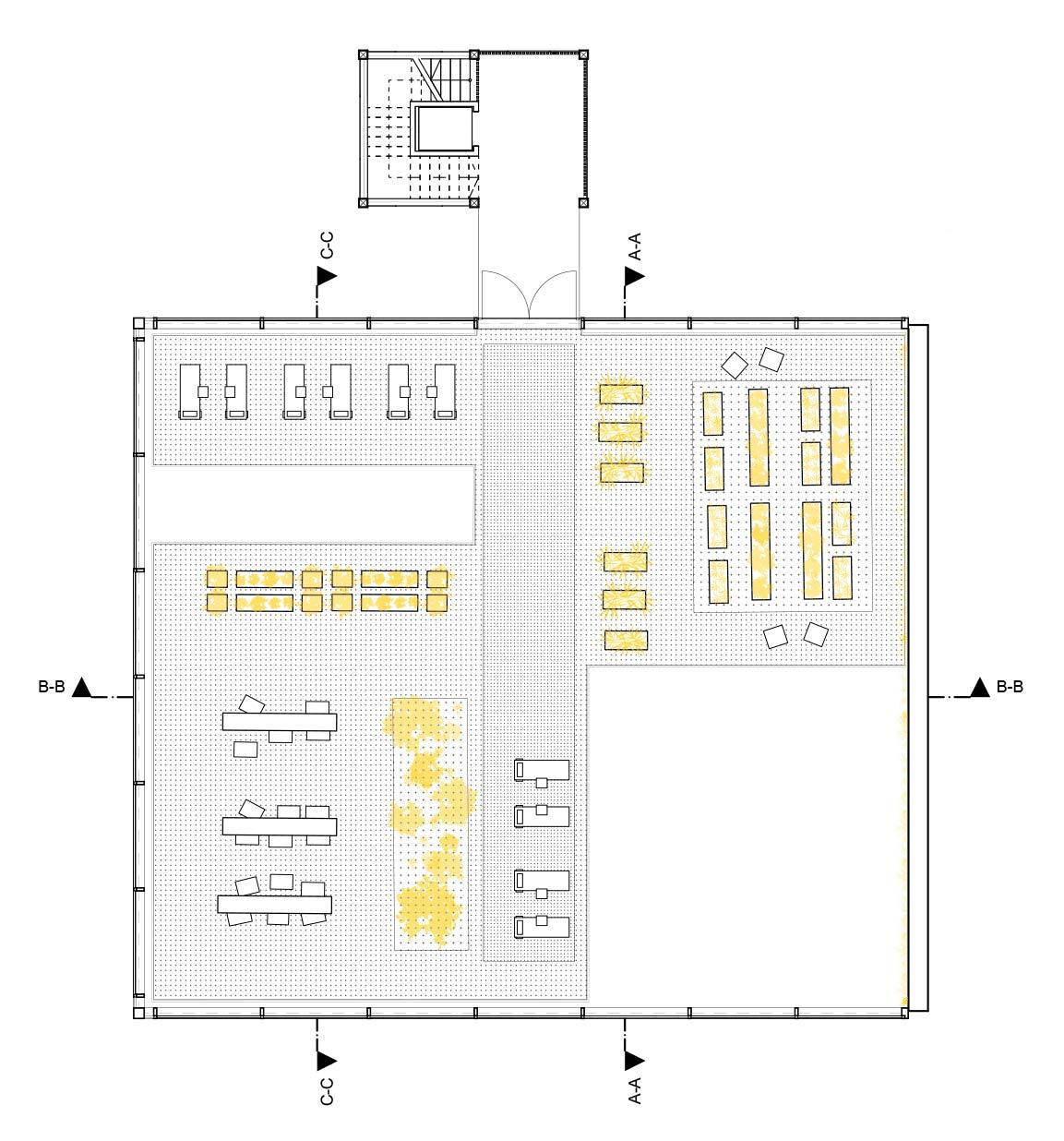 Die Dachterrasse des MIMO-Konzepts.